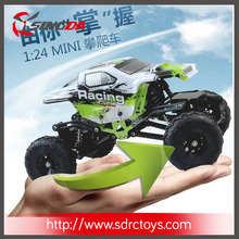 New WL 1/24 Scale MINI RC Rock crawler Car with doubel steering gear 24438