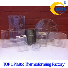 China Manufacturer Thermoformed Plastic Container Clamshell Packaging
