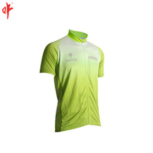 Cool max men cycling jersey fluorescence printing cycling shirt