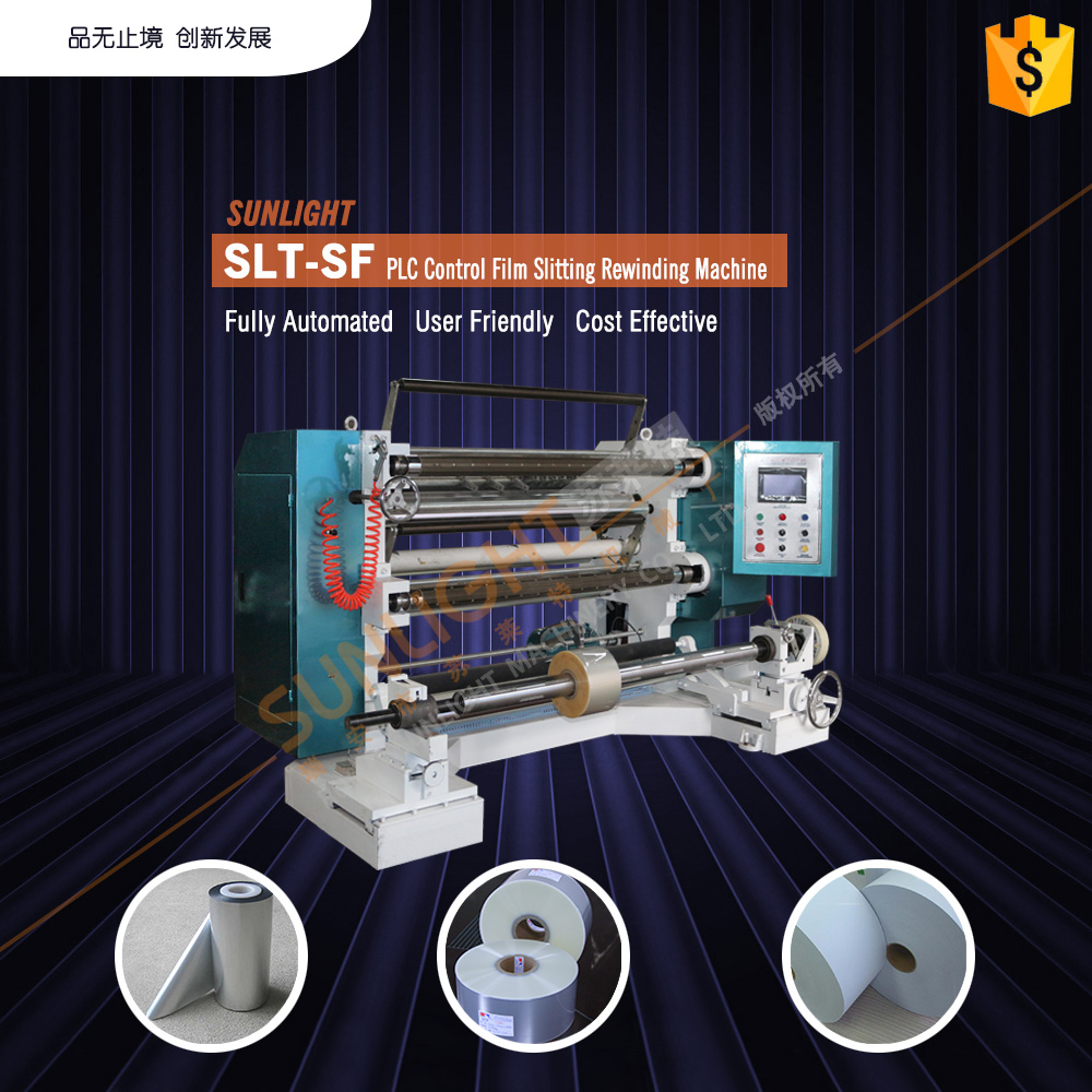 semi auto adhesive tape aluminium foil slitting machine for hot sale