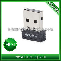 Mini usb wifi adapter 802.11N USB 2.0 wireless adapter 802.11n wifi usb adapter