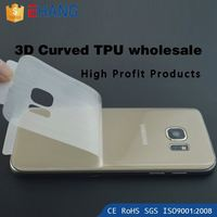 Top profitable products 360 00.2mm 2.5d 3H invisible shield TPU screen protector for htc one x