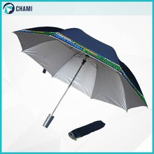Great material 2 fold portable new christmas umbrella