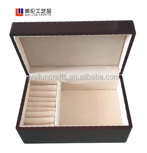 wholesale/Lacquer wooden jewelry gift box