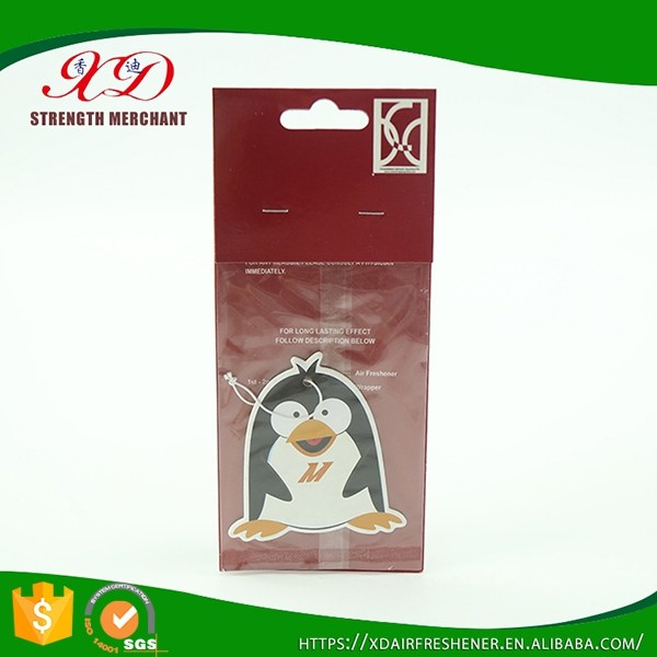 Wholesale Custom Shape Cute Car Air Freshener for Promotion