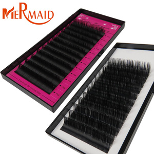 AAA grade eyelash extension mink , 12different thickness