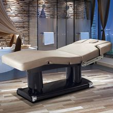 Commercial Furniture HZ-3838 Wood Base Electric Massage Beauty Bed / High End Used Electric Massage Table