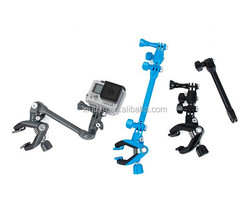 360-degree Rotation Clip Jam for Gopro 4 3+/3 2 1 Guitar Music Clamp Holder Mount