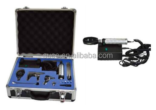 ENT Diagnostic set including ophthalmoscope and otoscope with CE certificates SU-XPB