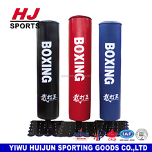 HJ-G080 Professional Gym Boxing Equipment boxeo equipo del entrenamiento punch boxing bag Free standing kick boxing punching bag