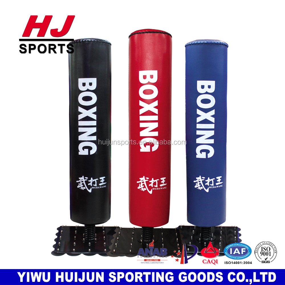 HJ-G080Professional Gym Boxing Equipment boxeo equipo del entrenamiento punch boxing bag Free standing kick boxing punching bag