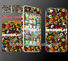 Full Body Skin Sticker for iPhone 5 with Cute Cartoon Design