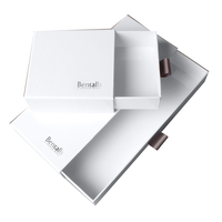 Cardboard Drawer Box Packaging With Ribbon