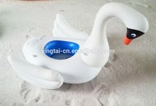 pvc inflatable swan pool float kid swan float