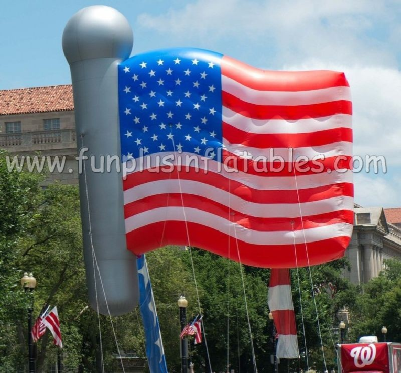 Full Printing American Flag balloon hot sales to USA with low price P3082