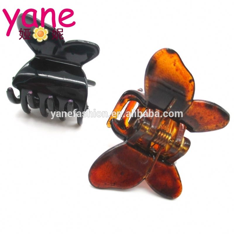 Butterfly shape korean colors girls small hair claw clip