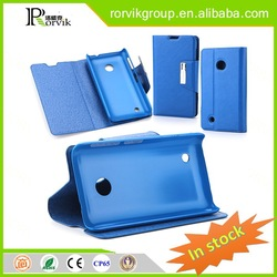 latest wholesale window smart cell phone case leather with high quality for Nokia Lumia 530
