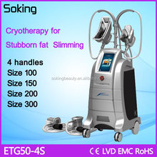 Super fast Vacuum cryotherapy body slimming machine