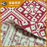 printing 100 polyester knitted fleece fabric for fashion sportswear