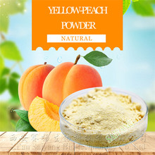 Fruit peach juice powder wholesale yellow peach powder drink mix