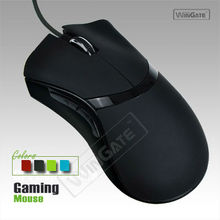ew USB Optical Scroll Wheel Noiseless Gaming Mouse Quiet Silent