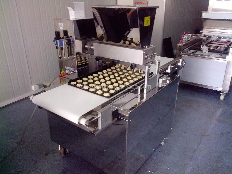 KH PLC contol cookie depositing machine / cookie production line /manual cookie machine for sale