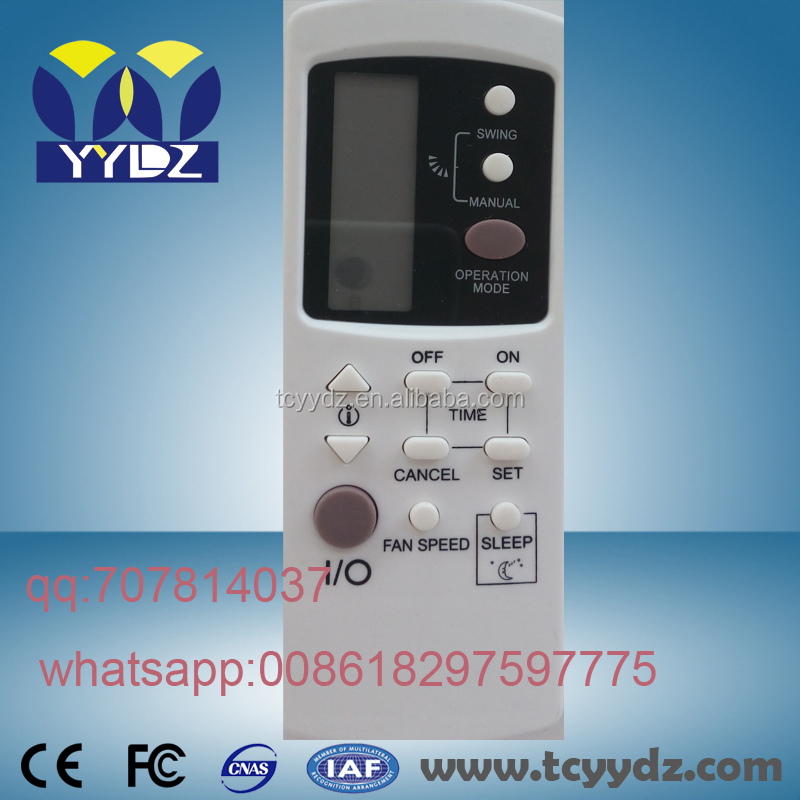 named A/C air conditioner remote onida remote for indian market