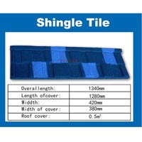 Hot sale cheap price japanese style roof tile / color stone coated metal roof tile