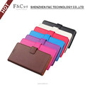 2016 arrival new 5.0 inch flip leather mobile phone cover with kickstand for Sony Xperia X wallet case