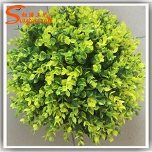 Colorful artificial plastic grass boxwood balls artificial plant