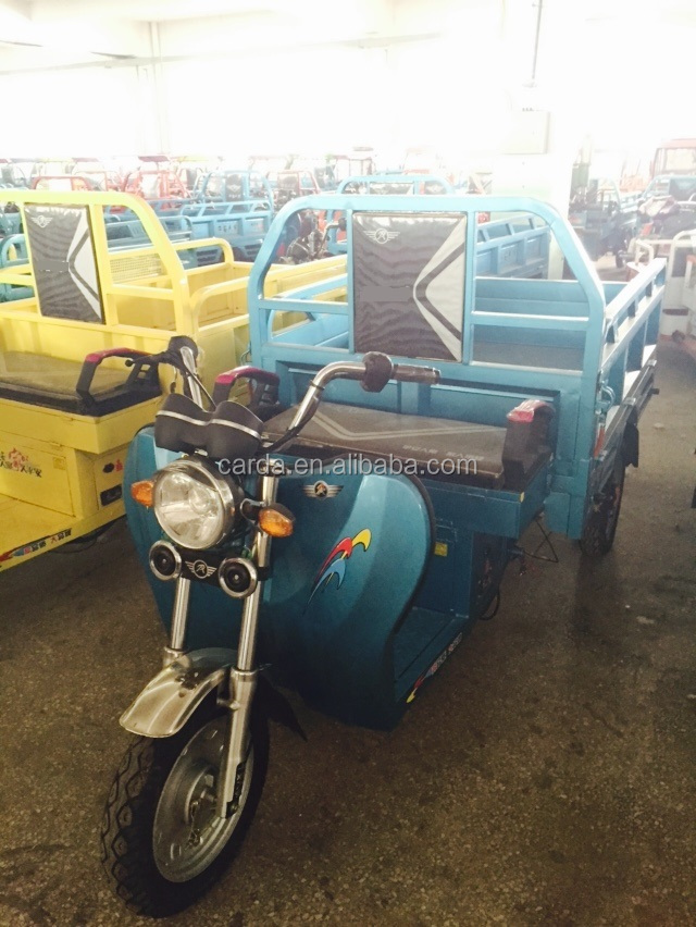 2016 new high power large loading china cargo tricycle with 3 wheel
