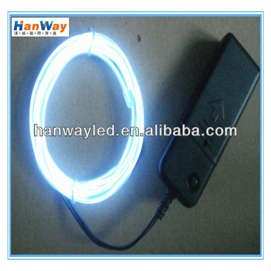 different colors el lighting wire with high brigtness and long life time
