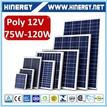 Mono solar pv module 100wp price 120w pv cell solar panel production line
