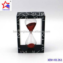 beautiful Acrylic frame kitchen sand timer for cooking