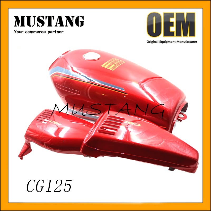 CG125 Custom OEM High Quality Motorcycle Fuel Tank and Motorcycle Fuel Tank Accessories