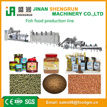 CE/ISO certificate fish food production equipment