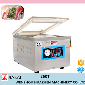High Quality household vacuum sealer dz260 vacuum sealer tea bag sealer