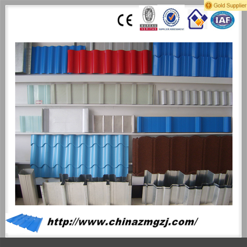 color steel tile/perforated metal roofing sheet/metal roof Manufacturer