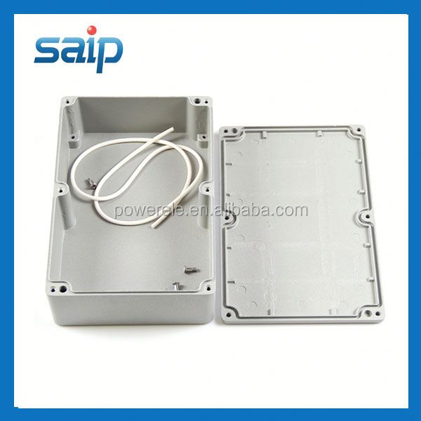 Super Quality 222*145 *55mm Sealed Aluminium waterproof electronic enclosure Outdoor Use