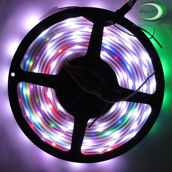 WS2812 5050 RGB LED Strip 30 60 ws2812 IC Individual Addressable 5V WS2812 5050 RGB LED Strip