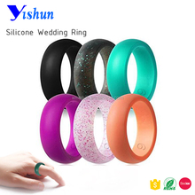 Silicone Wedding Finger Ring for Men and Women
