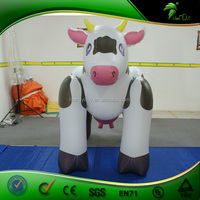 3m Giant Inflatable Cow / Custom Size Inflatable Milk Cow Can Be Floating