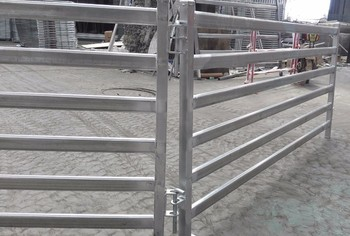 10ft long 5 Rails Oval Tube Goat Fence Panel for farm using
