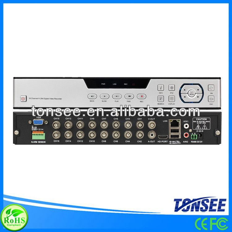 dvr card of kodicom software 16CH CIF hd network cctv DVR