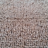 Wall to wall loop pile plain color tufted carpet