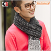 2016 Men warm long thick scarf warm knitting scarf stretch knit scarf manufacture