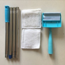 Hot sell product new design product baseboard buddy household cleaning supplies retractable handle cleaning rod