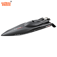 FeiLun FT011 RC Boat 2.4G High Speed Brushless Motor Built-In Water Cooling System <strong>Remote</strong> Control Racing Speedboat RC Toys Gift
