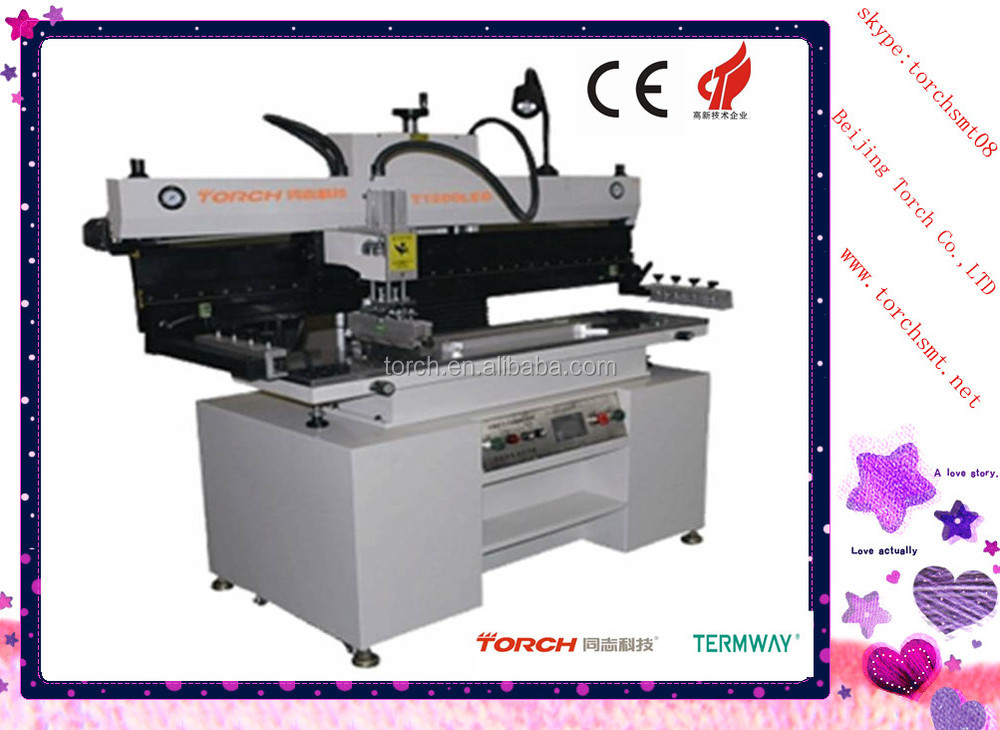 led pcb screen stencil printing,manufacture supply T1200LED