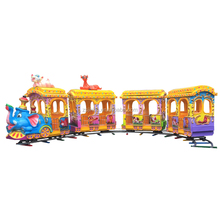 Indoor playground amusement park equipment / electric train for sale
